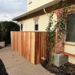 Folsom wood fencing