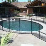 Removable Pool Fence configuration