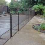 Sacramento removable pool fence